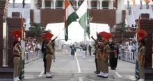 India-Pak Wagah border