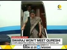 India cancels Sushma-Qureshi meeting, says 'true face' of Imran Khan revealed
