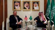 US Secretary of State meets Saudi Foreign Minister