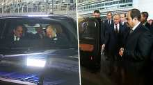 Putin gives Sisi a ride in Sochi