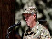 Resolute Support Commander General Austin Scott Miller.