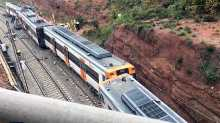 Spain train derails