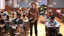 Emraan Hashmi in a still from 'Cheat India'.