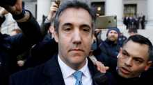 US President Donald Trump's former lawyer Michael Cohen.