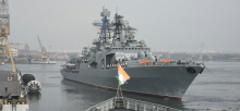 India-Russia naval exercise begins