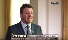 Iceland's Foreign Minister Gudlaugur Thor was in India recently