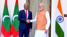 India's Modi gives $1.4 billion aid to Maldives amid worry over its China debt