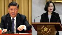 Chinese President Xi Jinping (L) and Taiwan President Tsai Ing-wen (R). (Courtesy: Reuters, AFP)