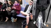 Subway passengers show off underwear on 'No Pants' ride