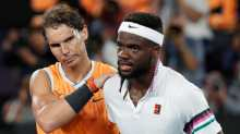 Rafael Nadal and Frances Tiafoe.