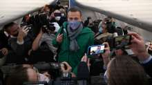 Alexei Navalny reaches Russia from Germany
