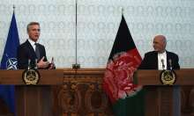 Afghan President Ghani and NATO chief Stoltenberg