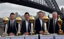 Famous Four: World Cup winning captains - Michael Clarke, Ricky Ponting, Steve Waugh and Allan Border
