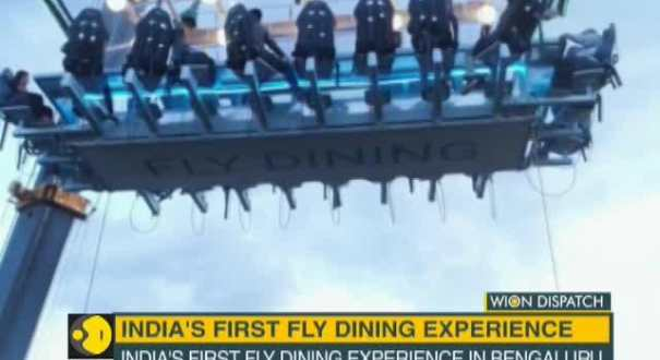 WION Dispatch: India's first fly dining experience in Bengaluru