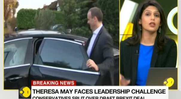 WION Gravitas: Theresa May faces leadership challenge as 4 ministers quit from her government