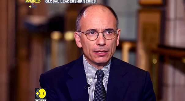 In conversation with Enrico Letta, Former PM, Italy