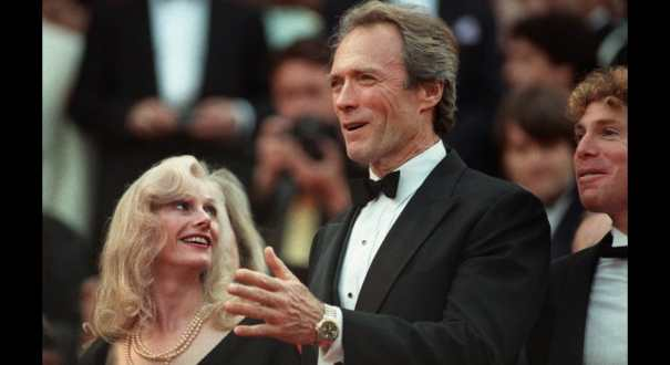 Clint Eastwood and his wife Sandra Locke