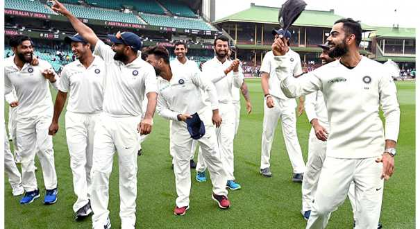 Watch Virat Kohli reacts on unusual victory dance by team India