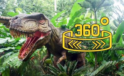 360 WION: Dinosaurs come to life!