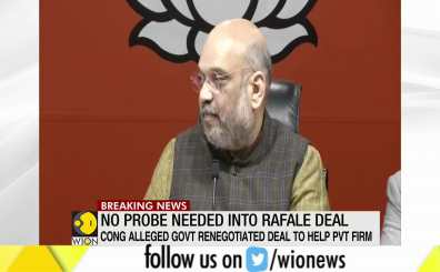 Amit Shah on SC verdict on Rafale Probe