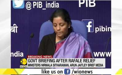 Rafale deal allegations put to rest with Supreme Court court verdict, says Nirmala Sitharaman