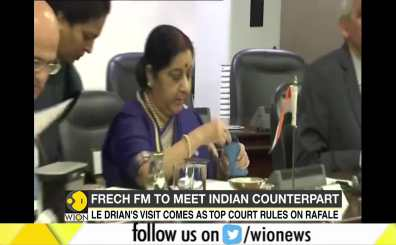 French FM to meet Indian counterpart