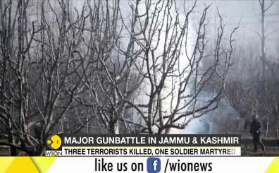 J&K: Three terrorists killed in Pulwama encounter; one soldier martyred