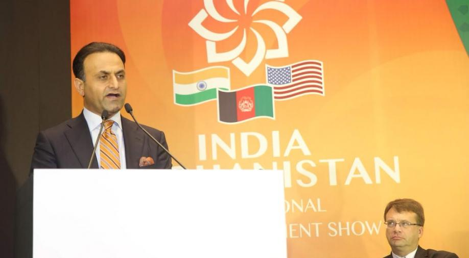 Dr Shaida Abdali, who resigned as the Afghan Ambassador to India, yesterday.