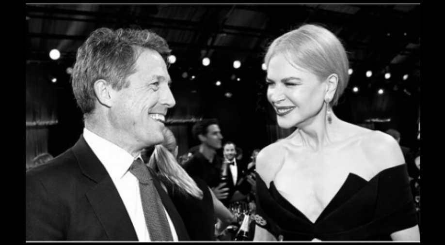 Hugh Grant and Nicole Kidman