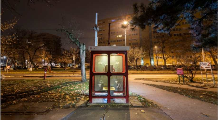 Hungary still uses public telephone booths