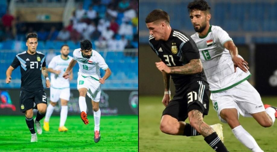 Iraq Vs Argentina Bashar Rasan Leaves Pitch After Finding Out About Mothers