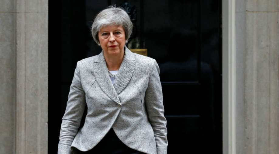 British PM May refuses to rule out no-deal Brexit