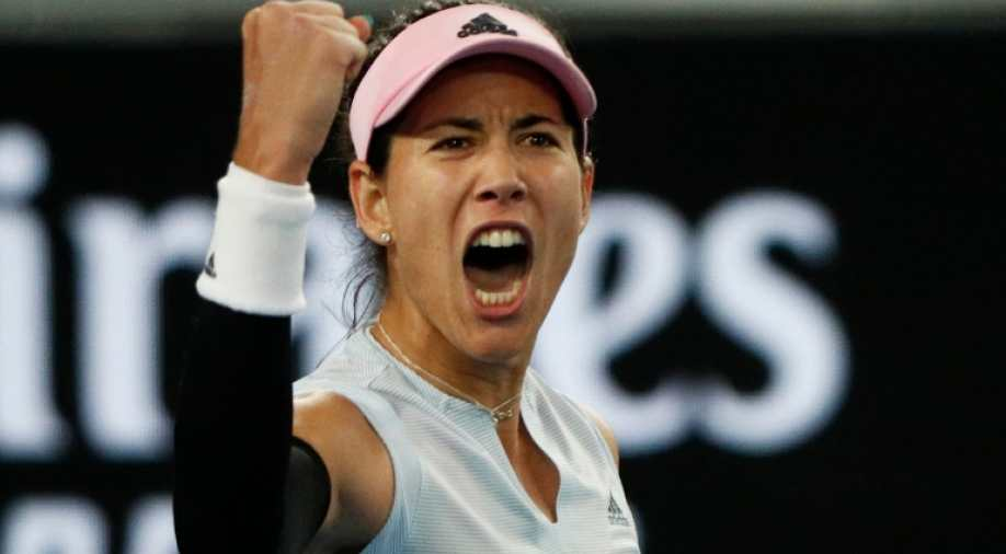 Midnight run: Garbine Muguruza edges Konta at 3 a.m
