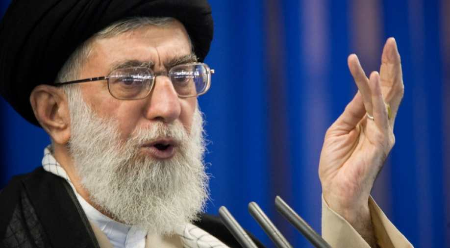'Death to America' aimed at Trump, not American nation, says Khamenei