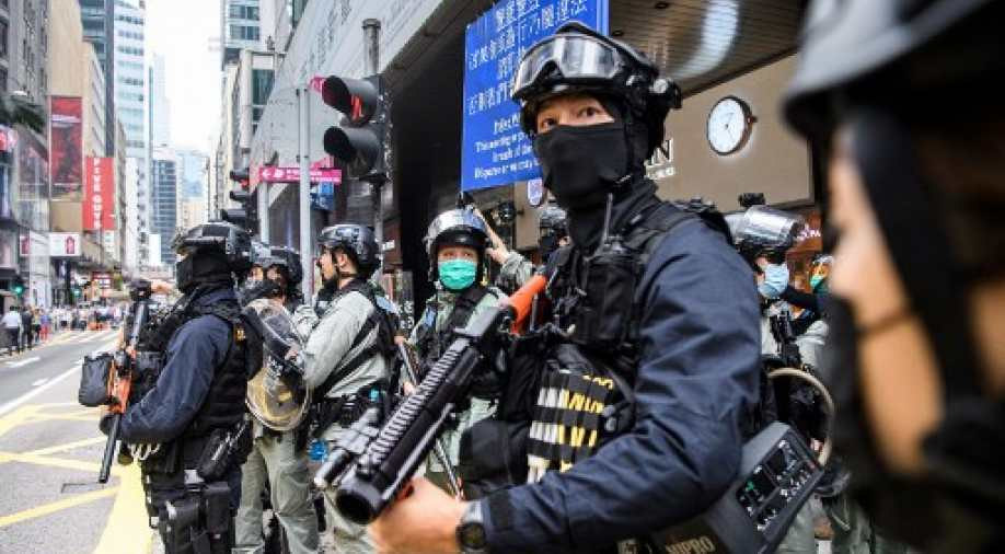 Hong Kong security law like `anti-virus software`: China official